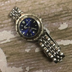 Eddie Bauer Stainless Steel Water Resistant Watch